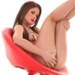 Red Is My Color free nude wallpapers for andriod device | Little Caprice